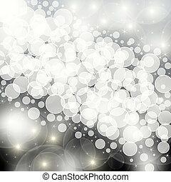 shining silver background