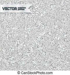 Shining silver glitter texture seamless pattern - Shining...