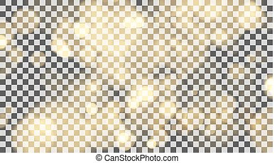 Shining transparent bokeh vector background