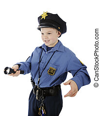 Shining Young Policeman
