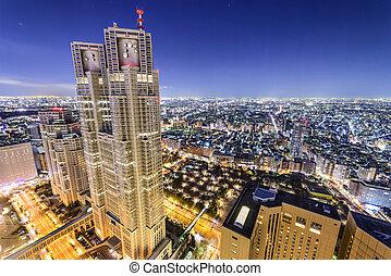 Shinjuku, Tokyo, Japan Office Buildings - Tokyo, Japan...