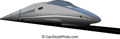 Shinkansen bullet train.  - Shinkansen bullet train.