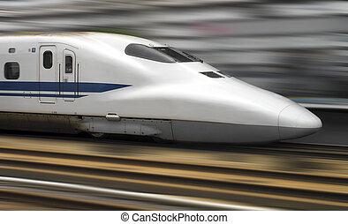 Shinkansen Bullet Train - Tokyo - Japan