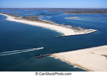 Shinnecock Bay, New York.