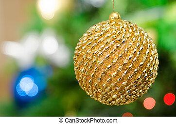 Shinny Christmas globe
