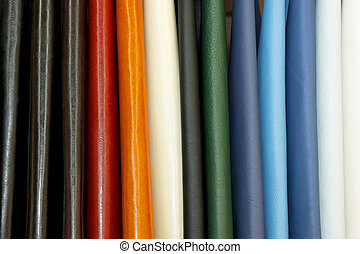 Shinny leather - Natural shinny leather samples for fashion...
