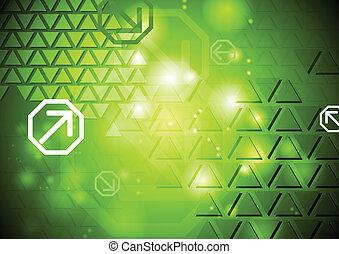 Shiny abstract hi-tech vector backdrop