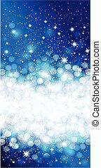 Shiny blue christmas background