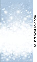 Shiny Blue christmas background