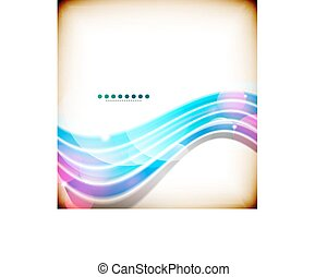Shiny blue lines technology abstract background