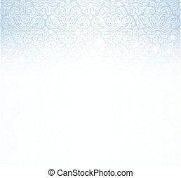 Shiny blue winter background