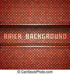 Shiny Brick Wall Background