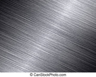 Shiny brushed metal texture abstract background.