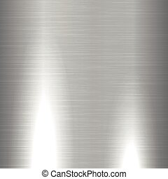 Shiny brushed metal texture