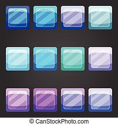 Shiny button 2