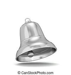 Shiny christmas bell