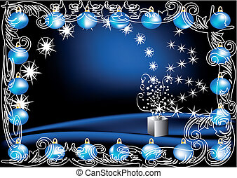 shiny christmas decoration