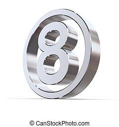 Shiny Circle - Number 8