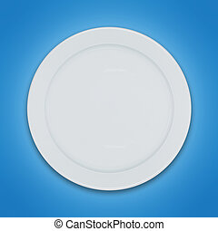 Shiny clean plate