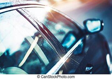 Shiny Clear Car Body - Shiny Clear Compact Car Body. Car...