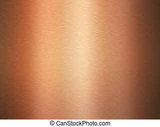 Shiny copper plate background texture