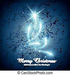 shiny creative christmas tree