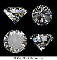 Shiny diamond collection