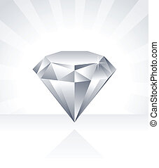 Shiny Diamond Illustration