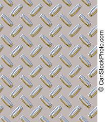 Shiny Diamondplate - Shiny steel diamondplate