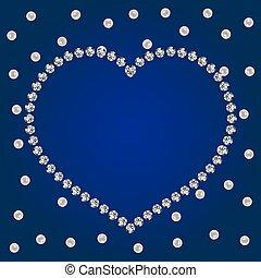 shiny diamonds frame