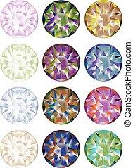 Shiny Diamonds Set