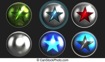 Shiny favorites icons LOOP   alpha