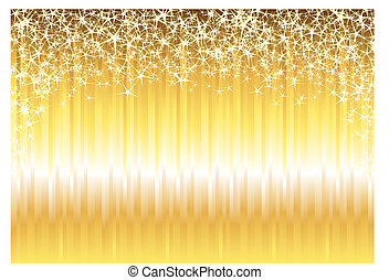 Shiny Gold Background - Shiny gold design for use as a...