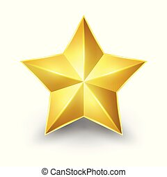 Shiny Gold Star.