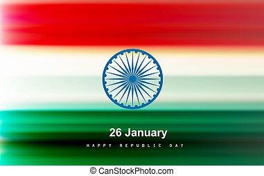 Shiny indian flag vector colorful design art