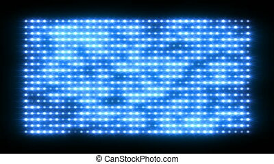 Shiny light wall