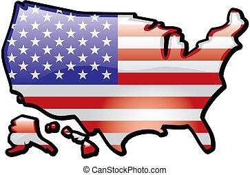 Shiny Map of USA