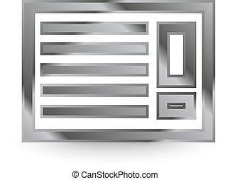 metal air con icon