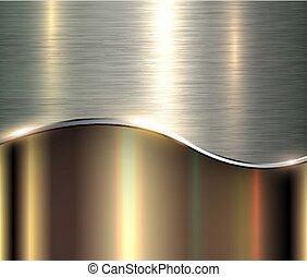 Shiny metallic background