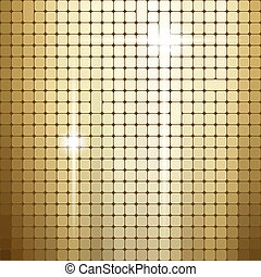 Shiny metallic texture pattern, vector background