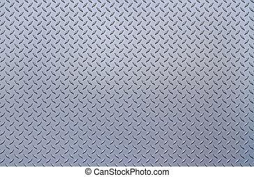Shiny metallic texture with rivets