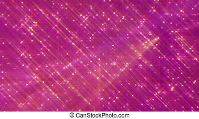 Shiny particle rain, color abstract background motion