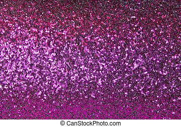 shiny purple background with sparkles closeup