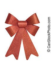 Shiny Red Bow