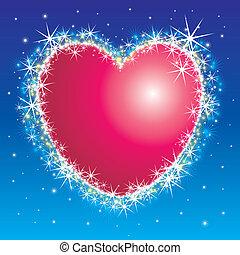 Shiny shiny heart