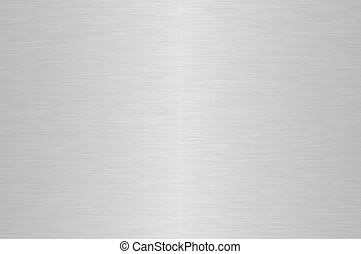 steel background - Shiny silver brushed steel background