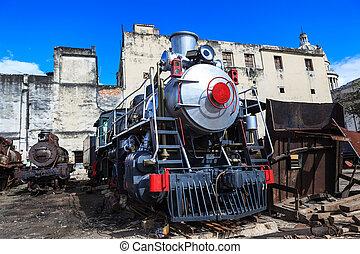 Shiny steam engine