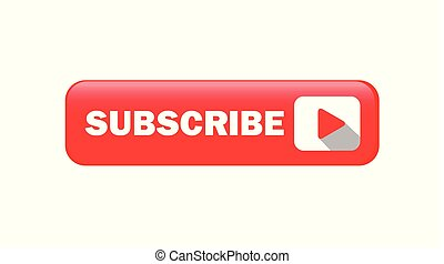 Shiny Subscribe Button Vector