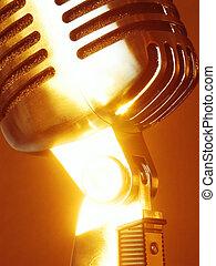 Sunny Retro - Shiny Sunny Retro ''Elvis'' Microphone