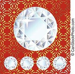 Shiny Vector Diamond Royal